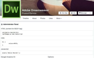 20+ Apps and Tools to Customize Your Facebook Pages