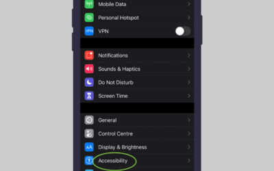 How to Activate and Turn iOS AssistiveTouch On/Off