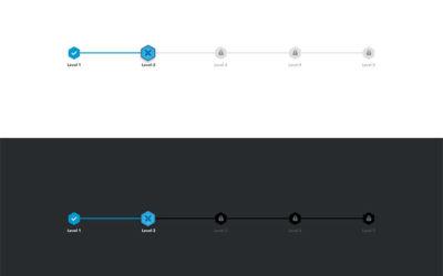 40+ Creative Progress Bar Designs, Vol. 2